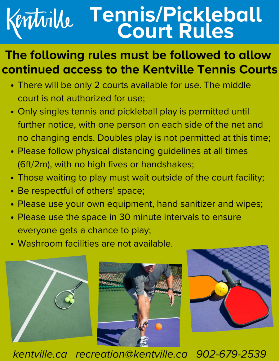 Covid 19 Tennis Court Rules